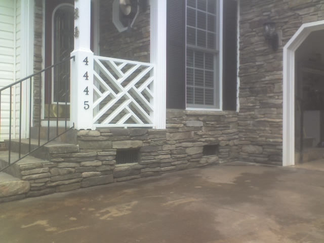 Ledge Stone homefront