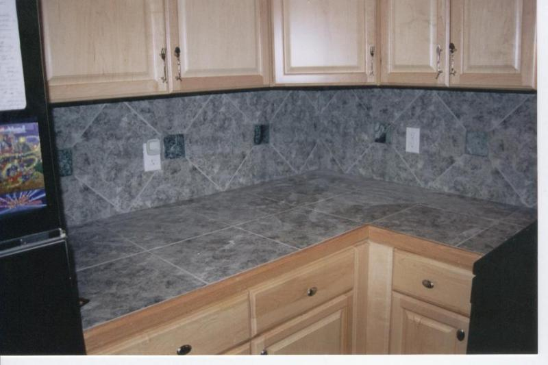 Marble Backsplash & Countertop